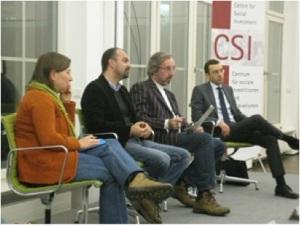 GDP presentation at CSI Berlin