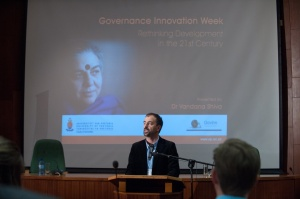 Introducing Vandana Shiva