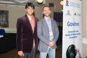 With Raj Patel
